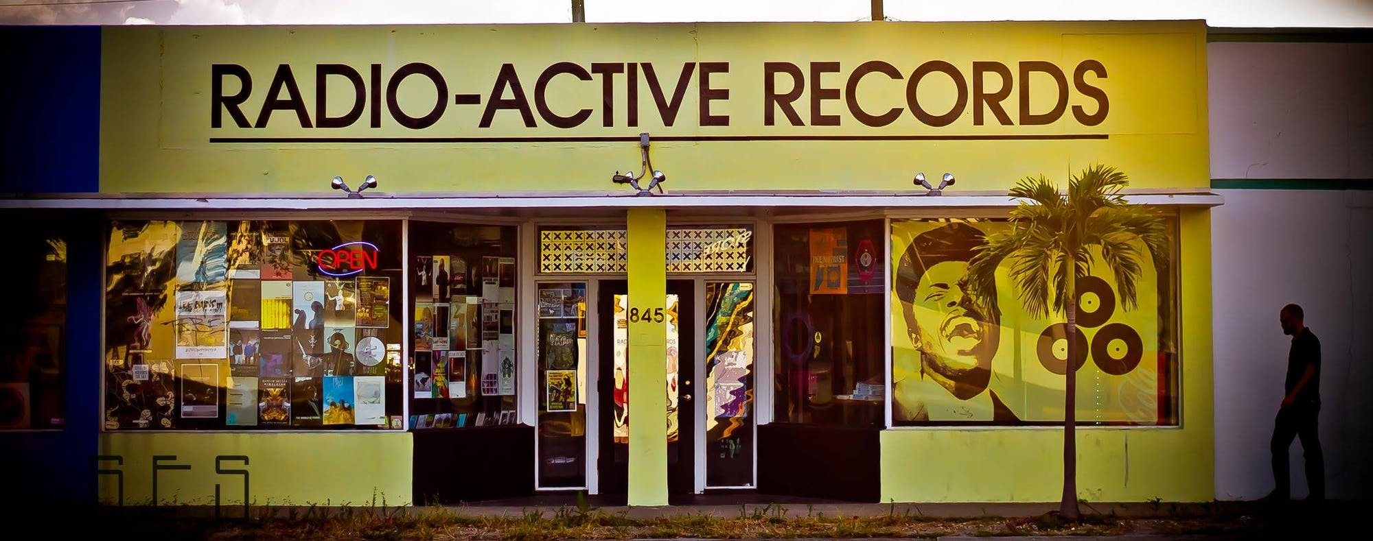 Radio-Active Records - Record Store Image