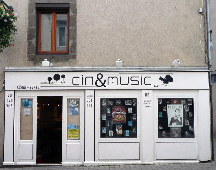 Cin & Music - Record Store Image