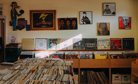 Hello Records - Record Store Image