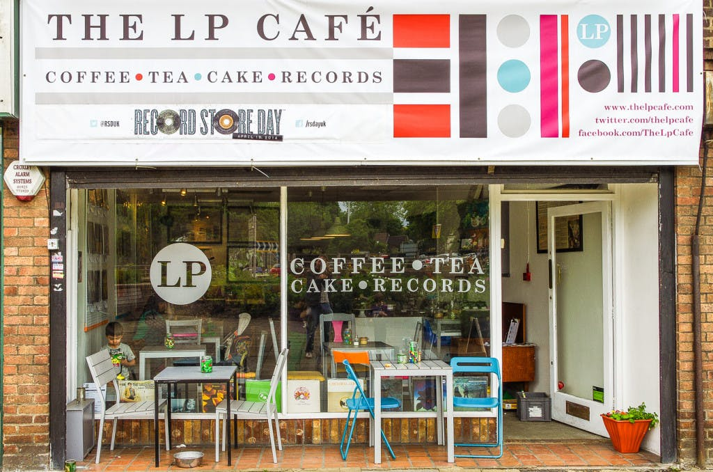The LP Cafe - Record Store Image