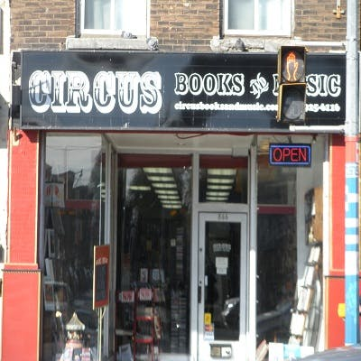 Circus Books and Music - Record Store Image