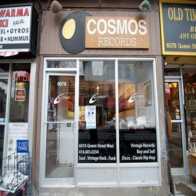 Cosmos Records - Record Store Image