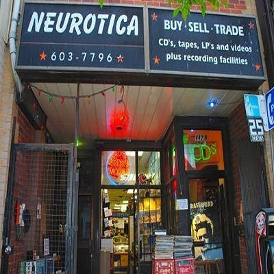 Neurotica Record Store in Toronto