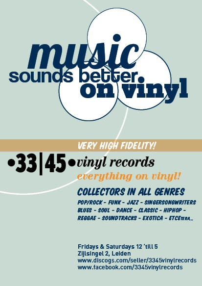 33|45 Vinyl Records - Record Store Image