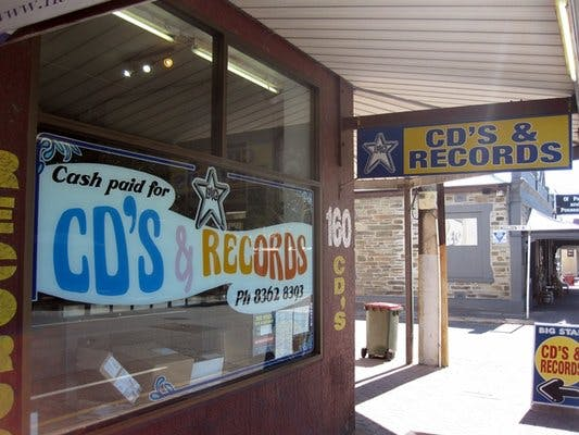 Big Star Records - Record Store Image