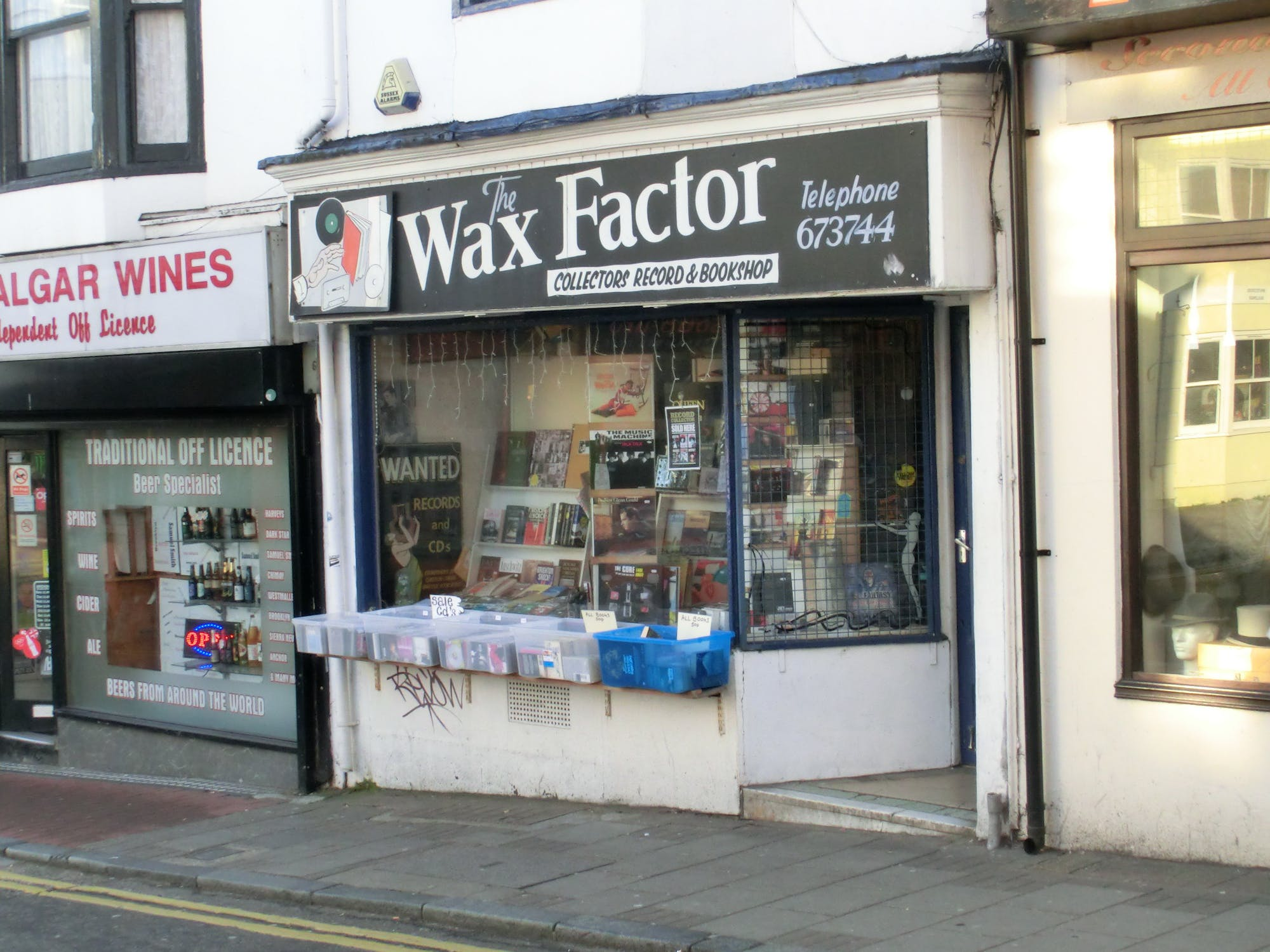 THE WAX FACTOR - Record Store Image