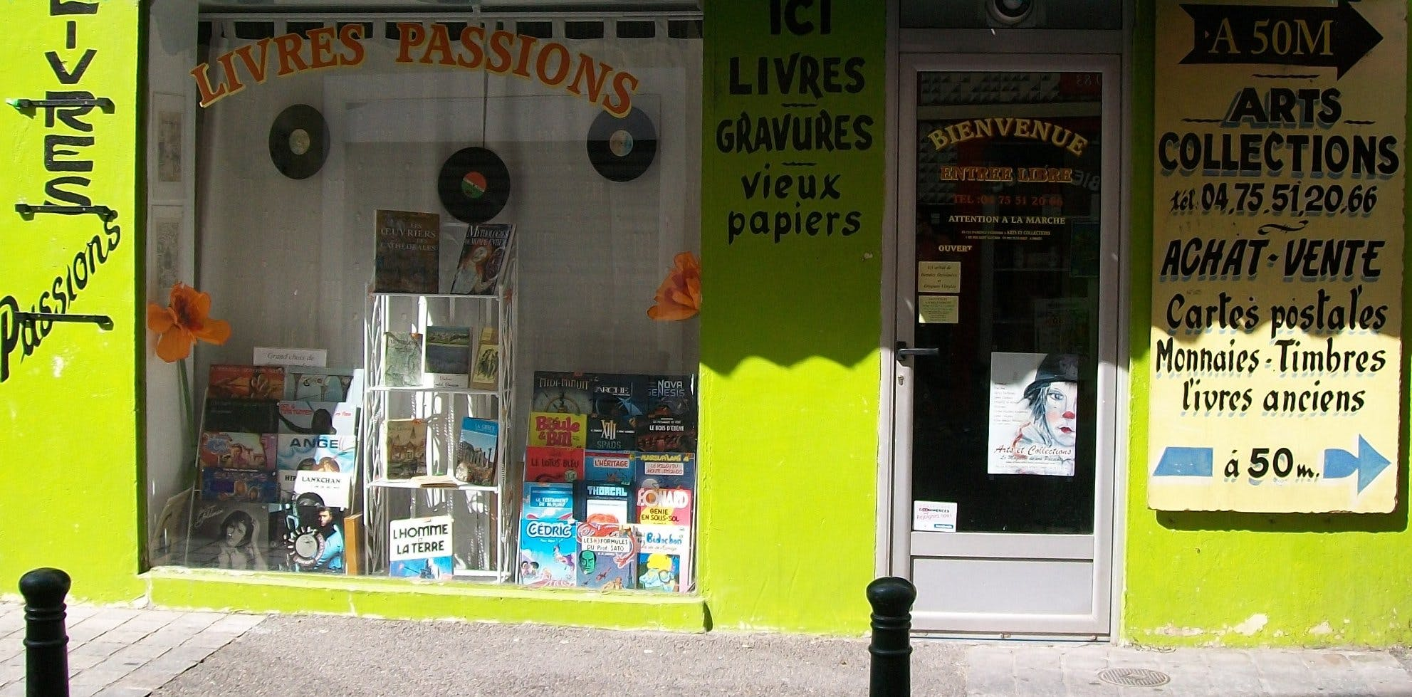 Livres Passions - Record Store Image