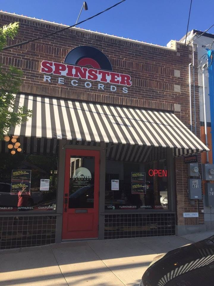 Spinster Records - Record Store Image