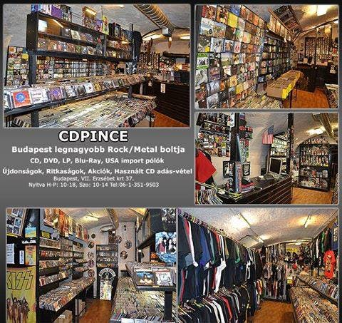 CD Pince - Record Store Image