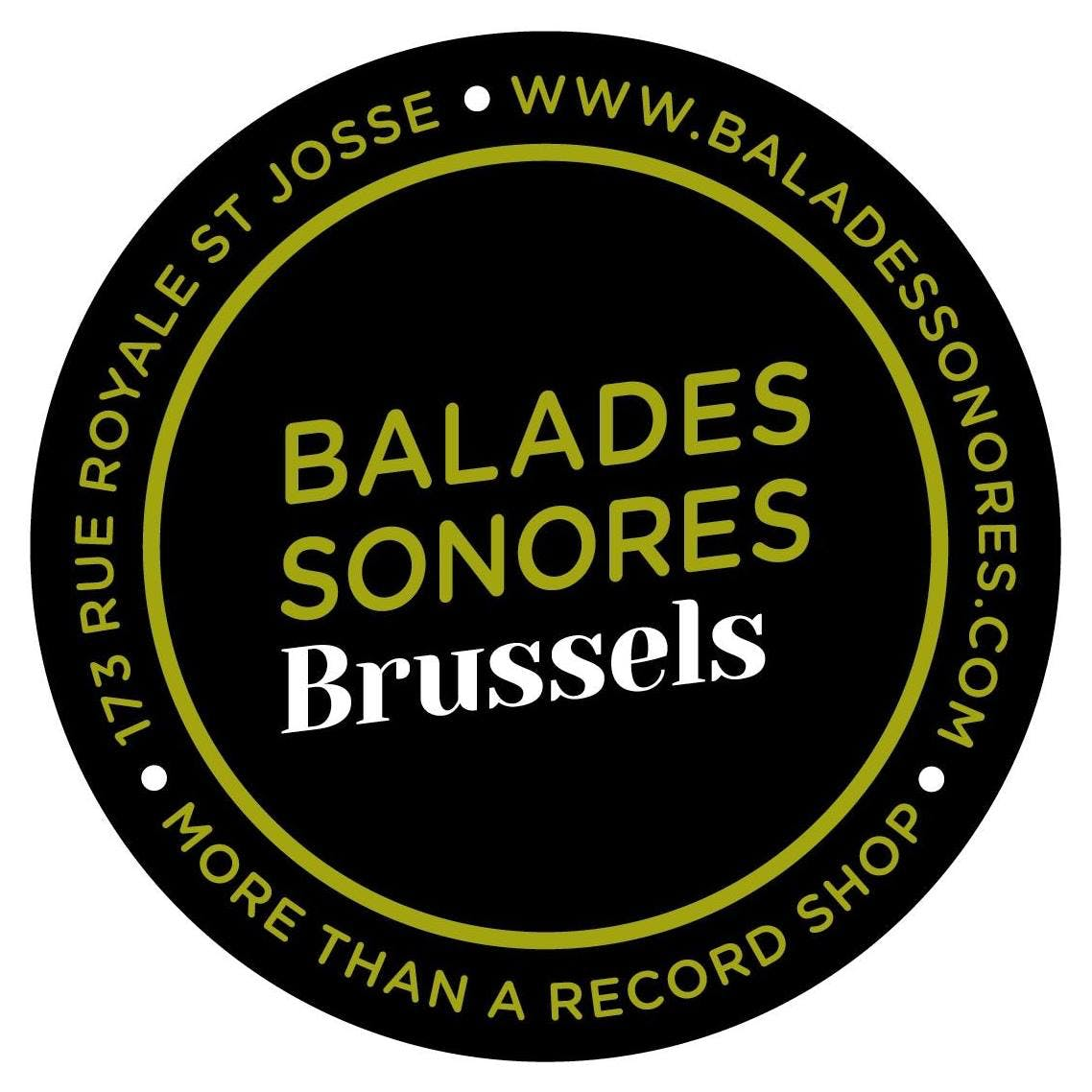 Balades Sonores Brussels - Record Store Image