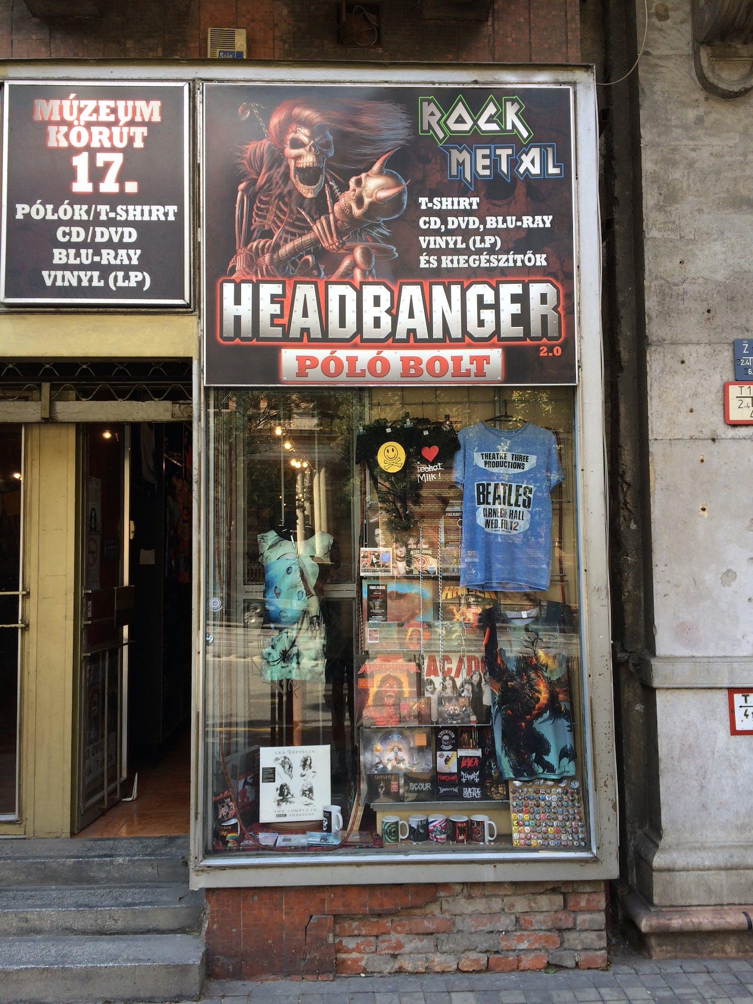 Headbanger - Record Store Image