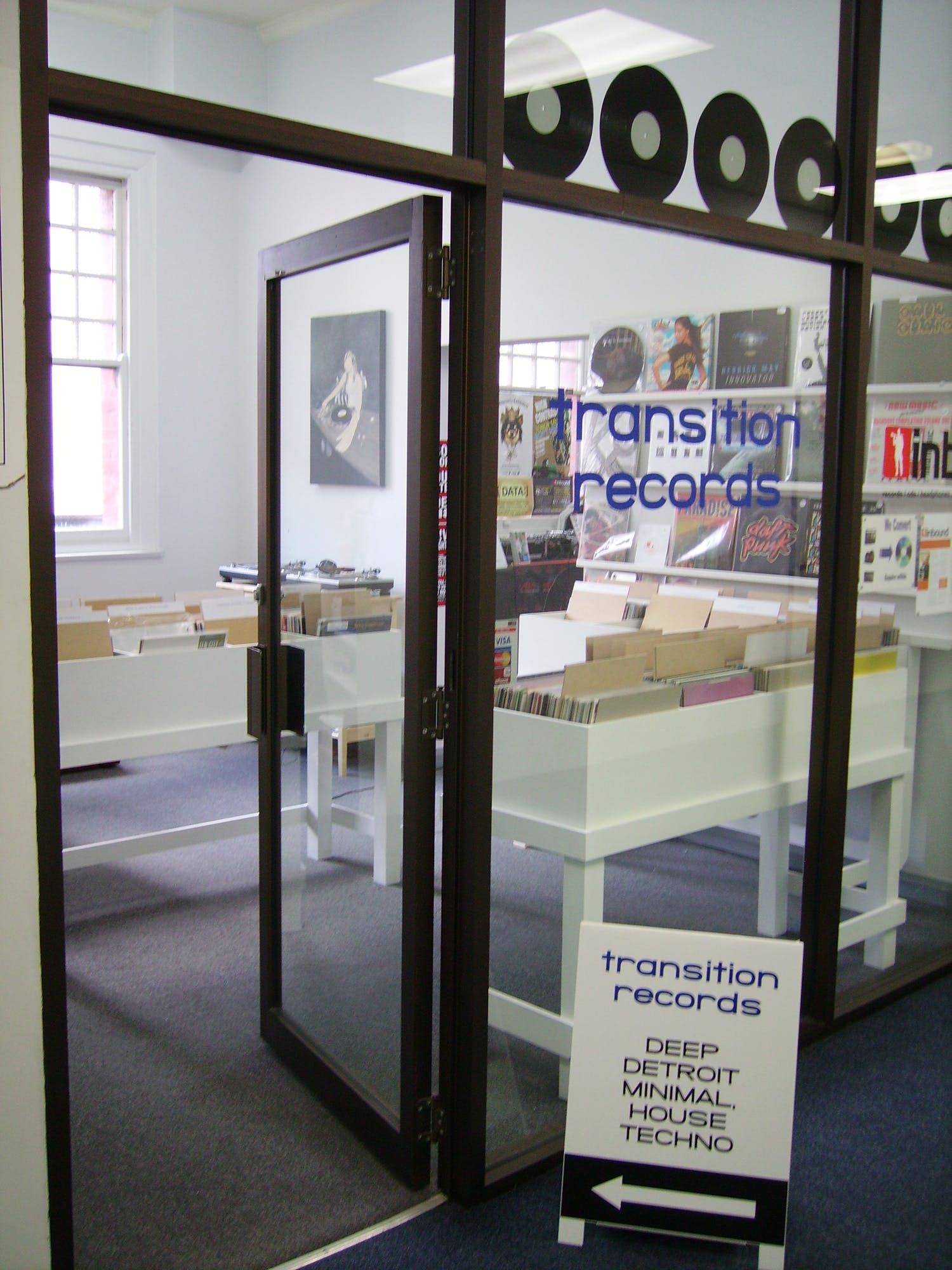 Transition Records - Record Store Image