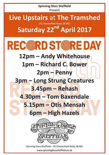 Record Store Day 2017 at Spinning Discs Sheffield | Vinylhub Record