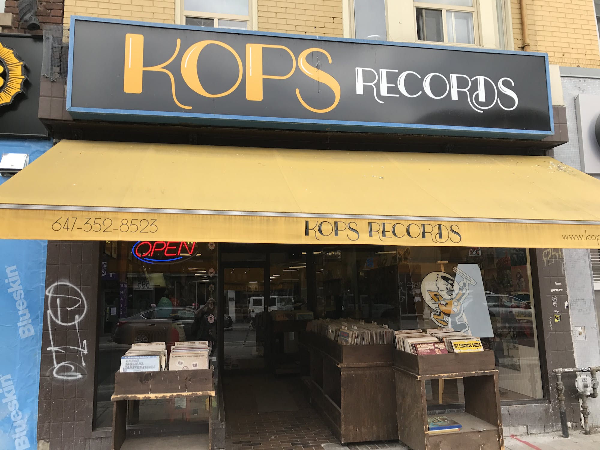 Kops Records (Bloor) - Record Store Image
