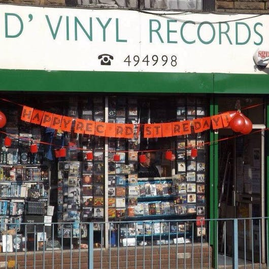 D'Vinyl Records | Vinylhub Record Store Database