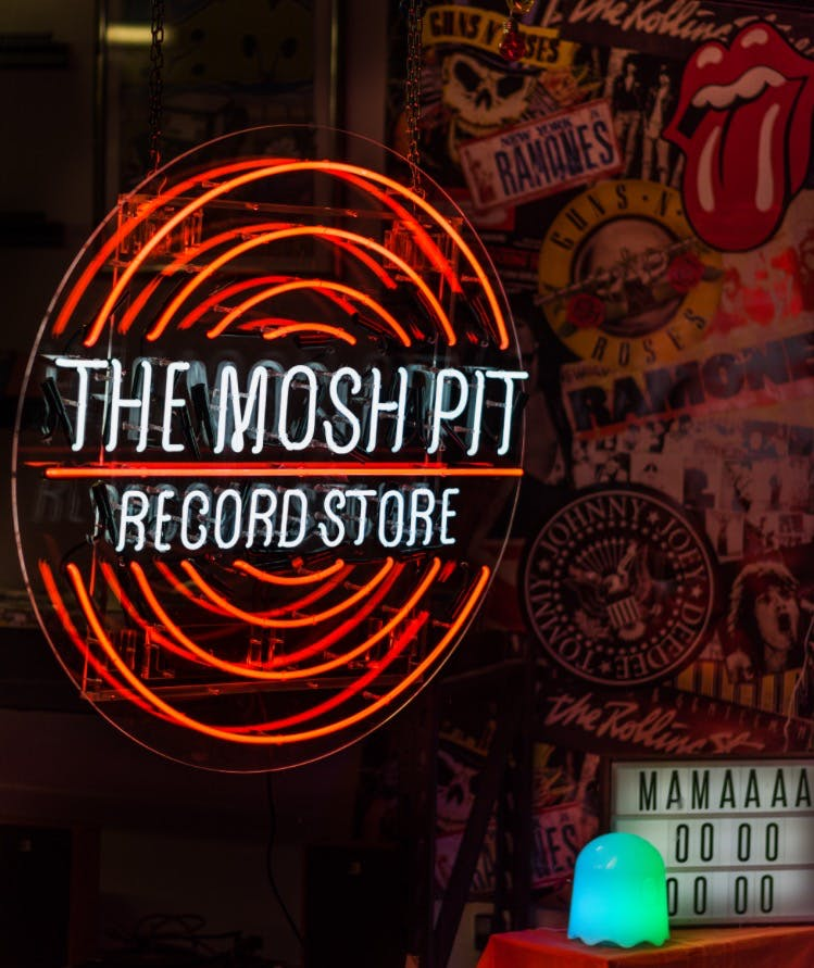 The Mosh Pit - Record Store Image