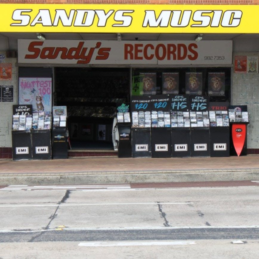 Sandy's Music - Record Store Image