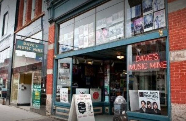 Dave's Music Mine - Record Store Image