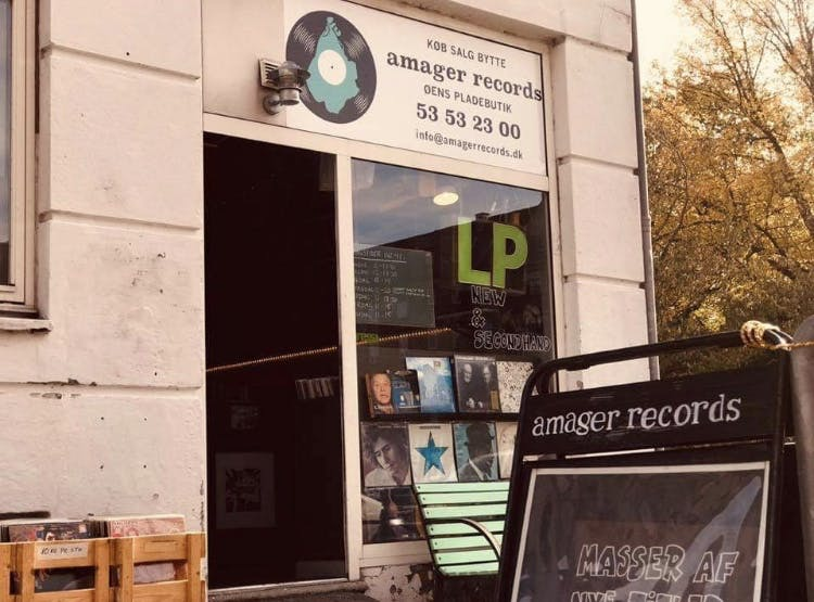 Amager Records - Record Store Image