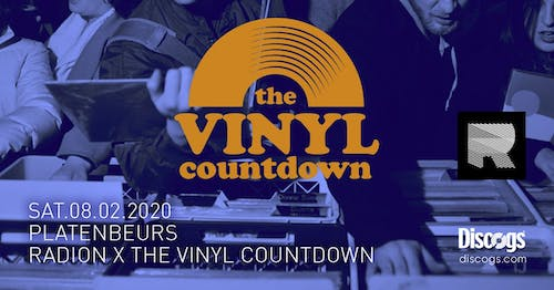 Platenbeurs | RADlON x The Vinyl Countdown x Discogs