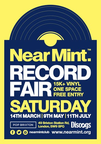 Near Mint Record Fair // South (July Edition)