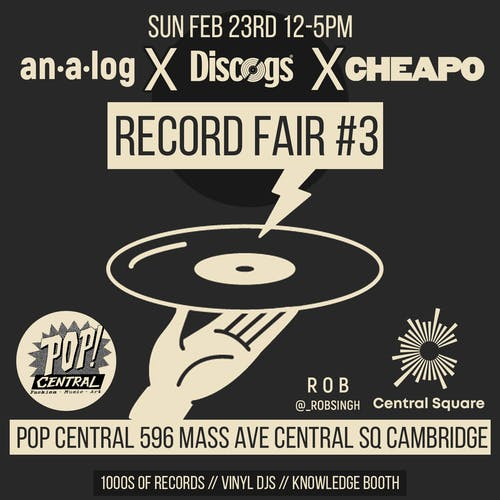 Analog Record Fair: Bringing Vinyl To The People